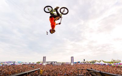 BMX en Inline shows in Koepelhal